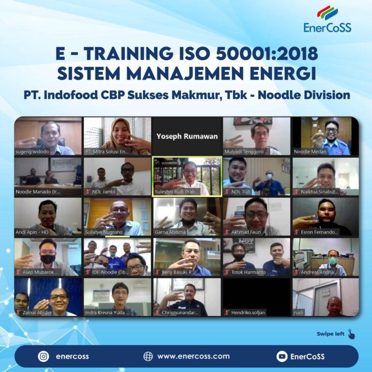 E- Training Awareness ISO 50001:2018